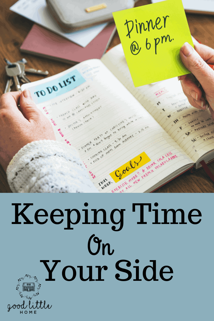 Keeping Time on your Side, Planners Work