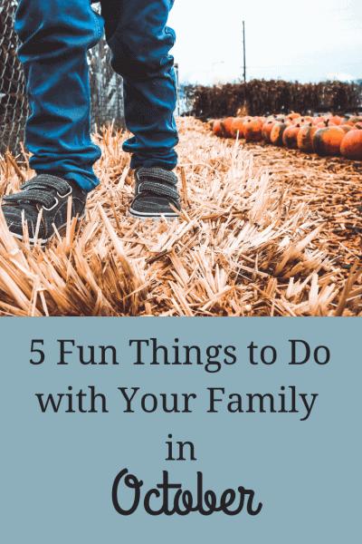 Copy of 5 fun things october