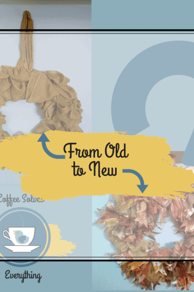 Old to new wreath