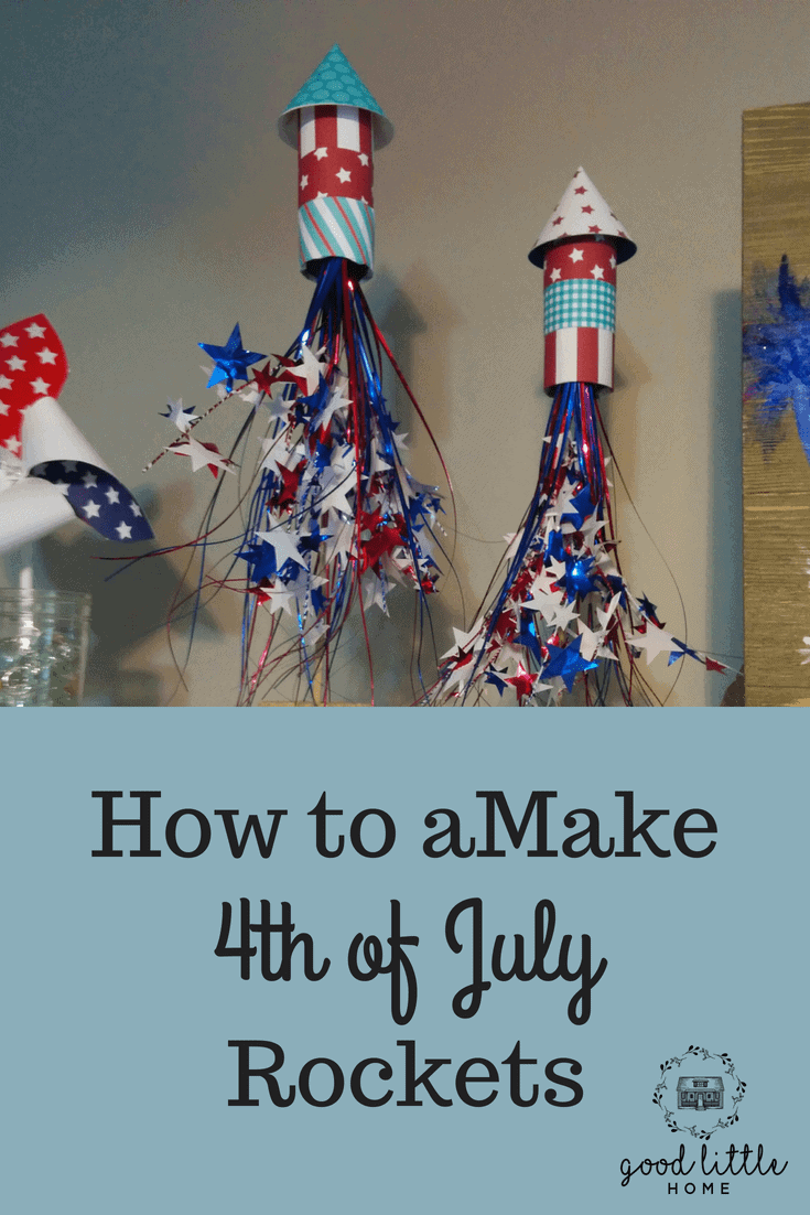 Making 4th of July Rockets