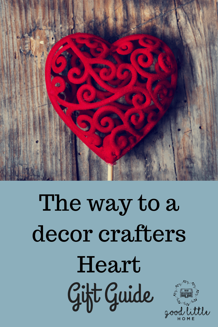 Decor Crafter's Gift Guide