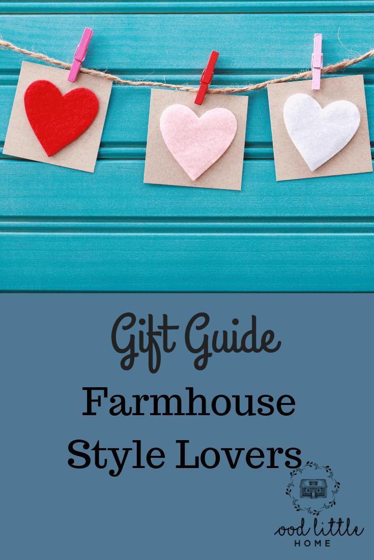 Farmhouse Decor Lovers Gift Guide