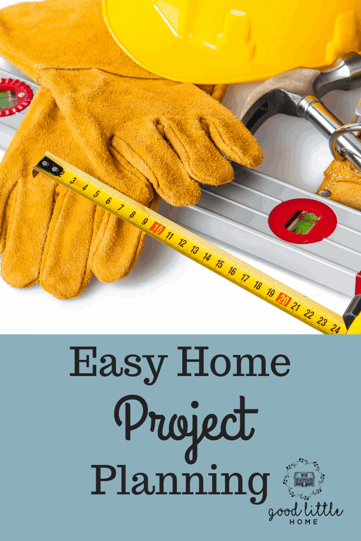 Easy Home Project Planning