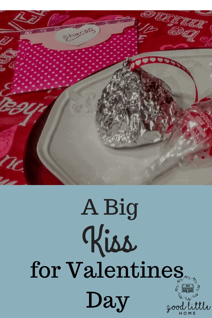 A Big Kiss for Valentines Day from Rice Krispy Treats