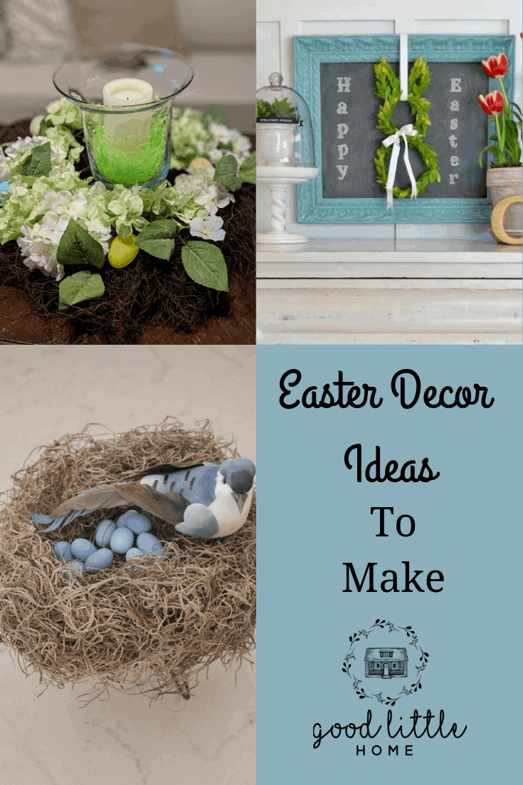 Farmhouse Cute Easter Decor you Can Make Yourself