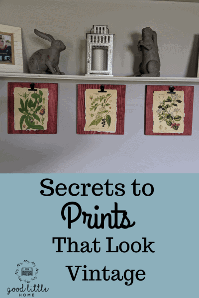 Prints that look old pin 2