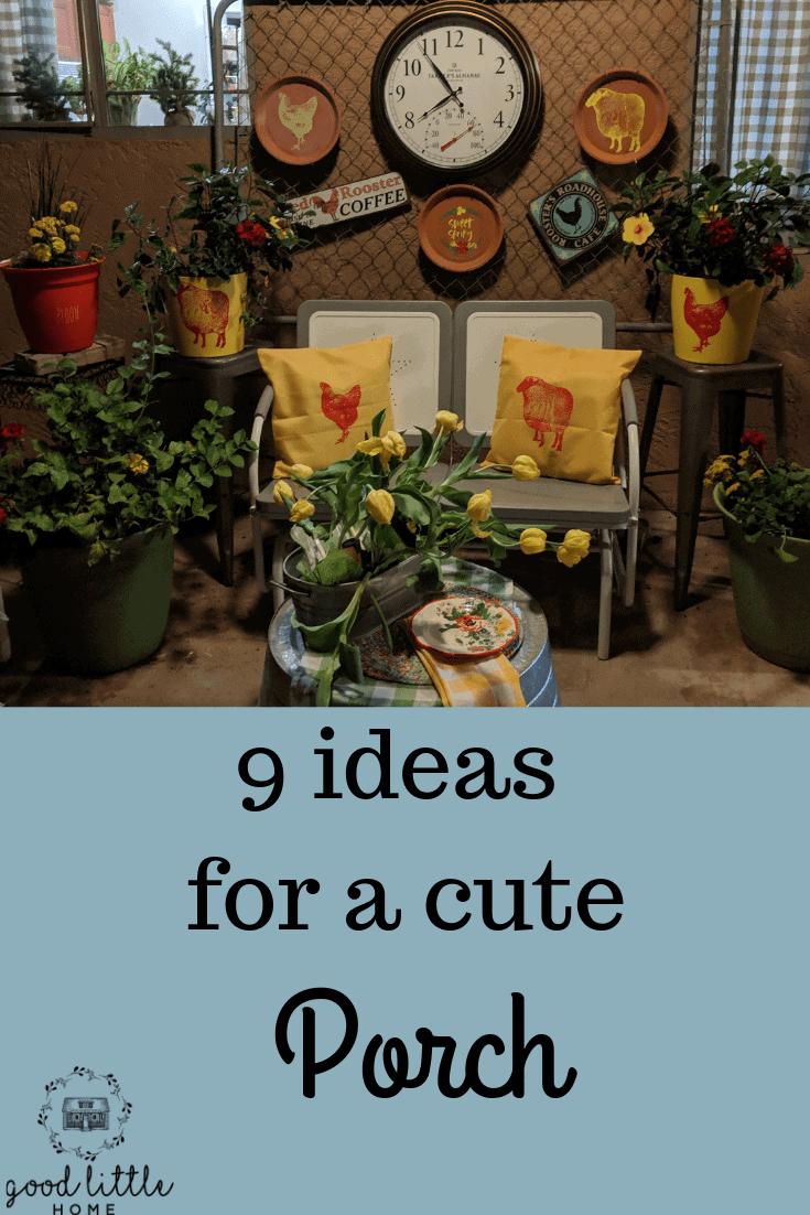 9 Pretty Porch Decor ideas