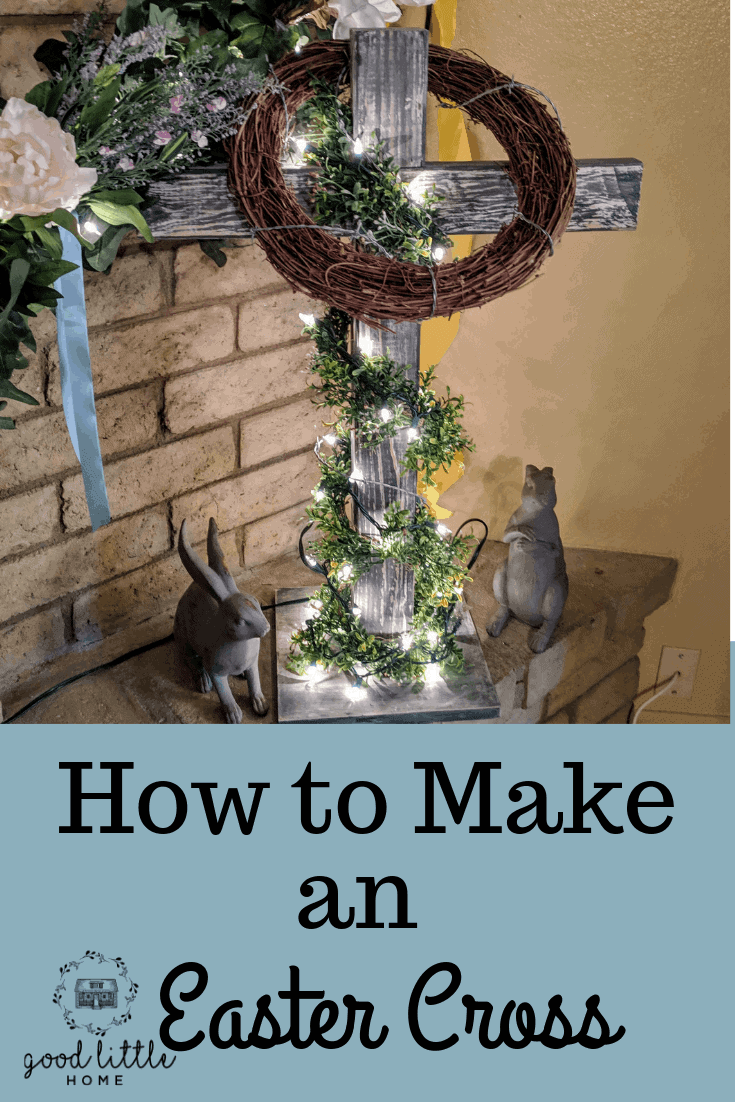 How to Make an Easter Cross