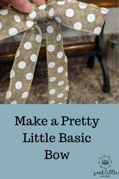 Picture of the pretty little basic bow