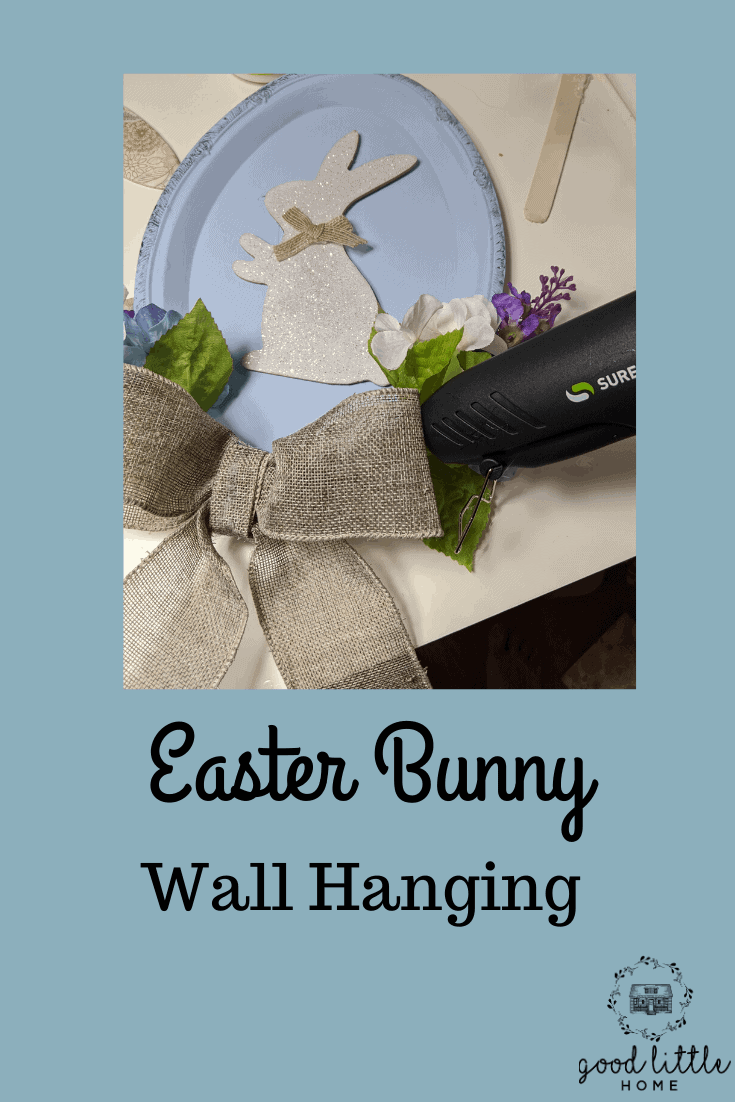 Fast Easy Bunny Wall Hanging, Just in Time for Easter