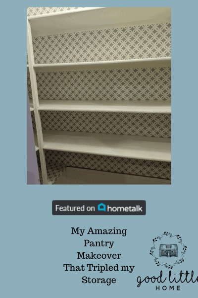 Hometalk Copy of My Amazing Pantry Makeover That Tripled my Storage