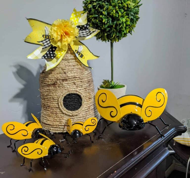 This Honey Bee Home is an Adorable DIY