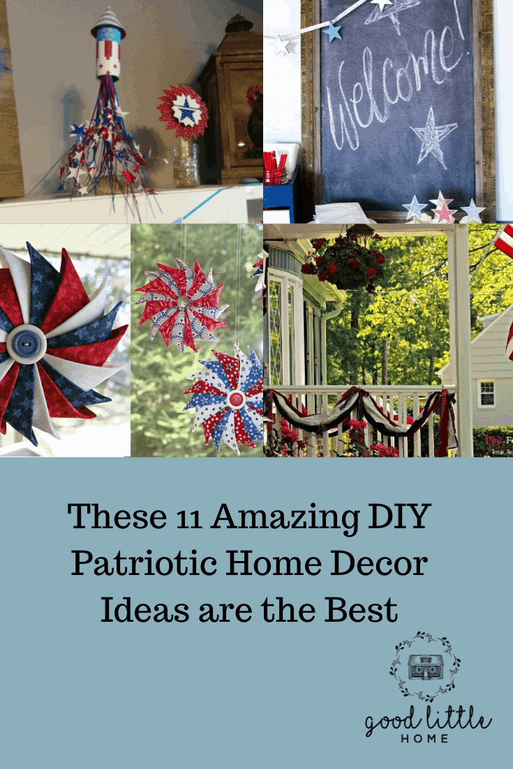 These 11 Amazing DIY Patriotic Home Decor Ideas are the Best