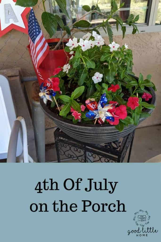 The best 4th of July Outdoor Decorations Porch Tour