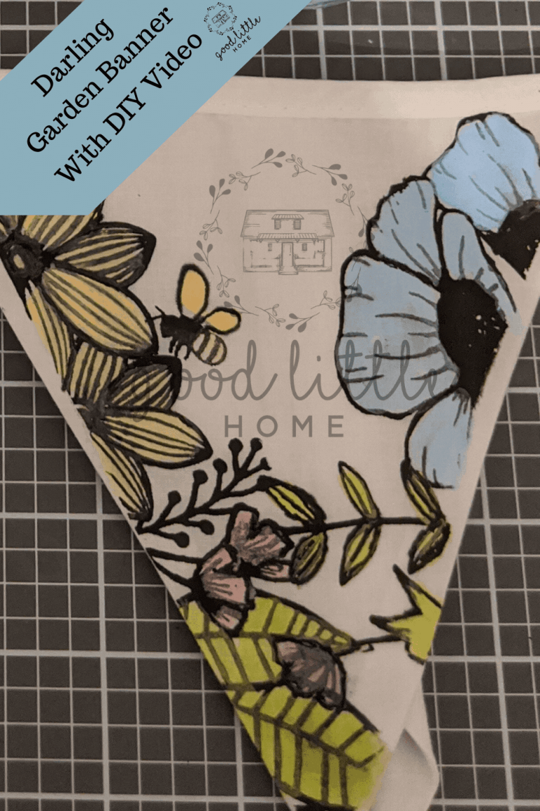 DIY Garden Pennant Banner and How-to Video