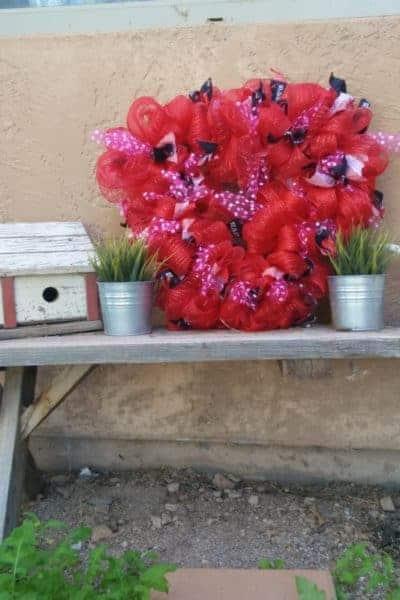 Deco-Mesh Wreath